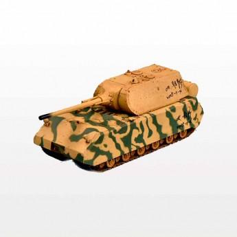 """Модель танка Maus (Маус) в окраске """"защитный - песчаный камуфляж""""."""