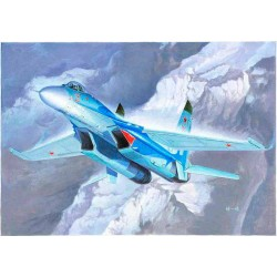 Trumpeter 01660 Сборная модель самолета Russian Flanker B Fighter (1:72)