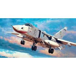 Trumpeter 01672 Сборная модель самолета Su-24MR Fencer-E (1:72)