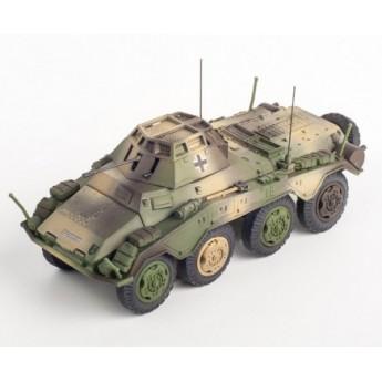 Panzerstahl 88012 Готовая модель бронеавтомобиля SD.KFZ.234/1 4.Pz.Div. Danzig 1945 (1:72)