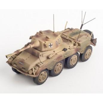 Panzerstahl 88013 Готовая модель бронеавтомобиля SD.KFZ.234/2 PUMA 2.Pz.Div. Normandy 1944 (1:72)