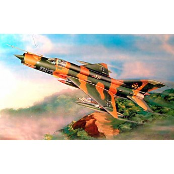 Trumpeter 02218 Сборная модель самолета МиГ-21МФ (1:32)