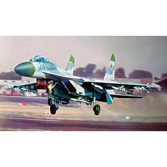 Модель самолета Су-27 (1:32)