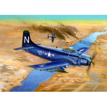 Модель самолета A-1D AD-4 Skyraider (1:32)