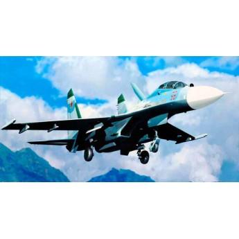 Модель самолета Су-27УБ (1:32)