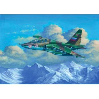 Модель самолета Су-25УБ (1:32)