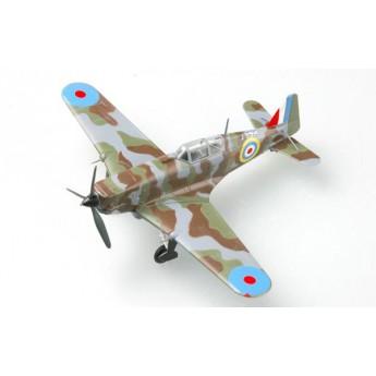 Модель самолета MS.406 - n°826 (AX674) N°2 Французских ВВС, Сентябрь 1940. (1:72)