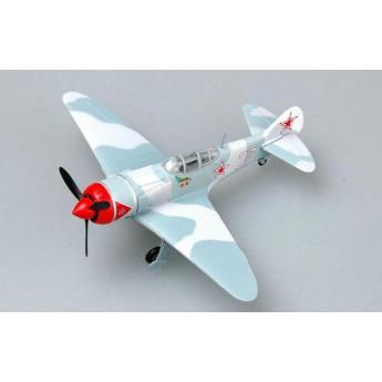 Модель самолета Ла-7 белый №27 Кожедуб (1:72)