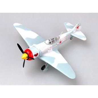Модель самолета Ла-7 белый №23 Головачев