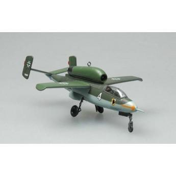 Easy Model 36345 Готовая модель самолета He-162A-2 май 1945 г (1:72)