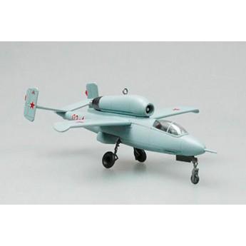 Easy Model 36346 Готовая модель самолета He162-A2 CCCP 1946 г (1:72)
