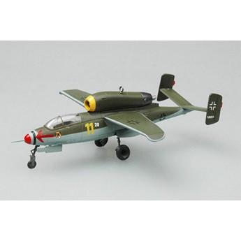 Easy Model 36347 Готовая модель самолета He-162A-2 май 1945 г (1:72)