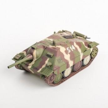 Panzerstahl 88037 Готовая модель САУ Hetzer (Flamm) 17 танковая дивизия Эльзас январь 1945 г (1:72)