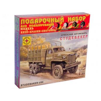 """Модель автомобиля """"Студебекер"""" (1:35)"""