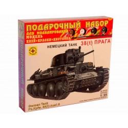 """Моделист ПН303538 Сборная модель танка 38(t) """"Прага"""". Подарочный набор (1:35)"""