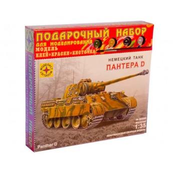 Модель танка Pz.Kpfw.V Panther Ausf.D. Подарочный набор