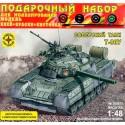 Моделист ПН304871 Сборная модель танка Т-80У с микроэлектродвигателем. Подарочный набор (1:48)