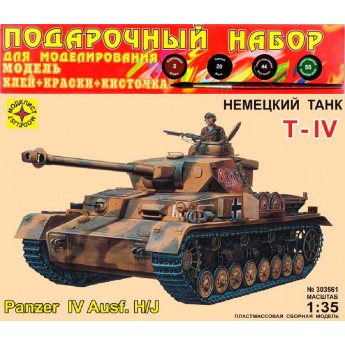 Модель немецкого танка Т-IV H/J (1:35)