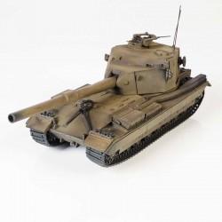 BroneMir bm036 Готовая модель танка FV 215B 183mm GUN CARRIER (1:72)