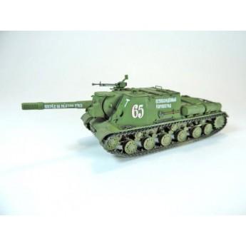 """BroneMir bm042 Готовая модель САУ ИСУ-152 """"Зверобой"""" весна 1945 г (1:72)"""