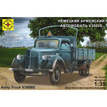 Модель автомобиля Немецкий армейский Ford V3000S (1:35)