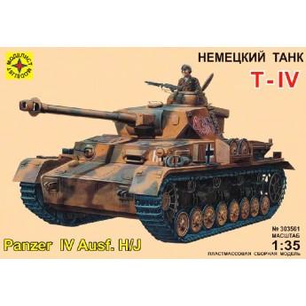 Модель танка T-IV H/J (1:35)