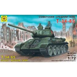 Модель танка Т-34-85 (1:72)