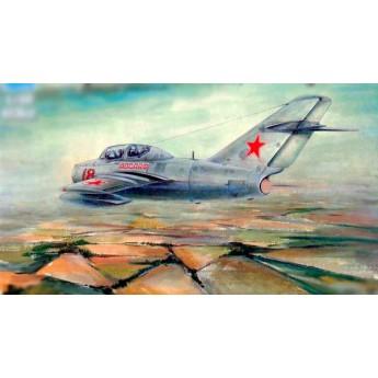 Модель самолета МиГ-15 УТИ (1:48)