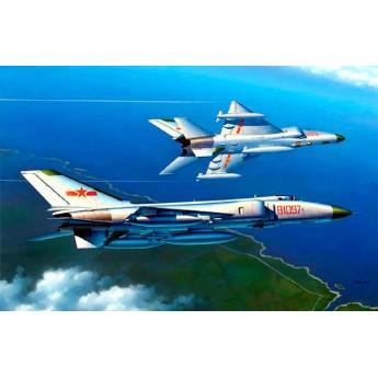 Модель самолета J-8 IIB (1:48)
