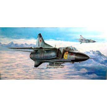 Trumpeter 02853 Сборная модель самолета МиГ-23 М (1:48)