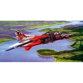 Модель самолета МиГ-23МФ (1:48)