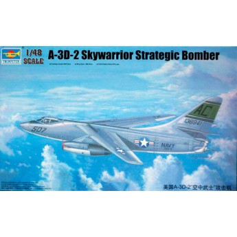 Модель самолета A-3D-2 Scywarrior Strategic Bomber (1:32)