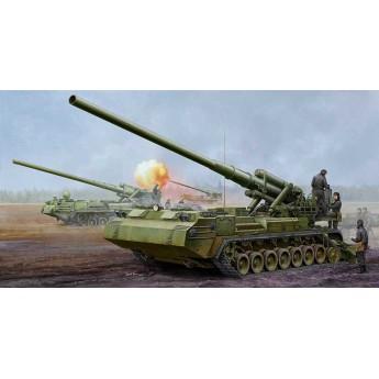"""Модель САУ Советская 203-мм 2С7M """"Пион-м"""" (1:35)"""