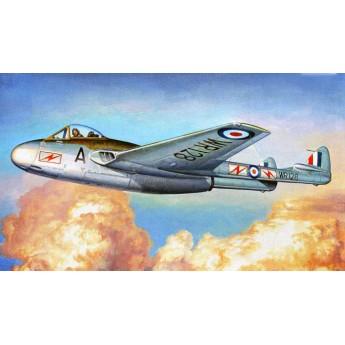 Модель самолета Vampire FB.MK.9 (1:48)