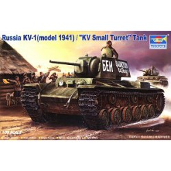 Модель танка КВ-1 модель 1941 г. (1:35)