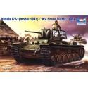 Trumpeter 00356 Сборная модель танка КВ-1 модель 1941 г (1:35)