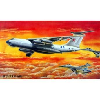 Модель самолета Ил-78 (1:144)
