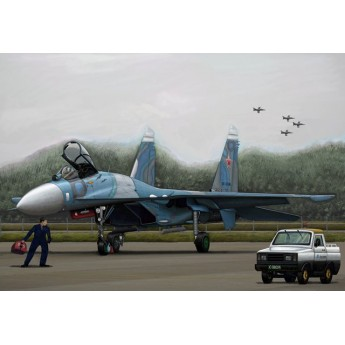 Модель самолета Russian SU-27 Flanker B (1:144)