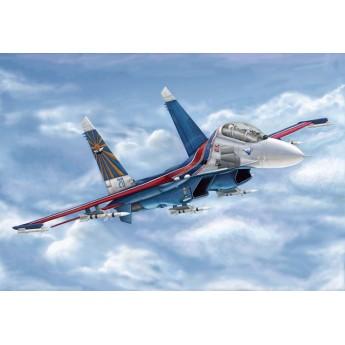 Модель самолета Russian Su-27UB Flanker C (1:144)