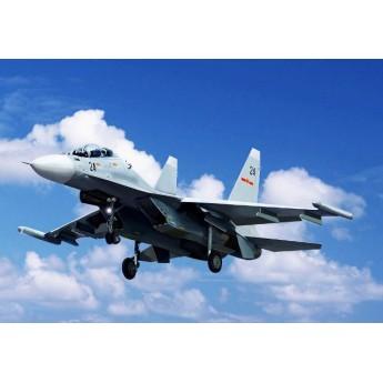 Модель самолета Russian Su-30MK Flanker G (1:144)