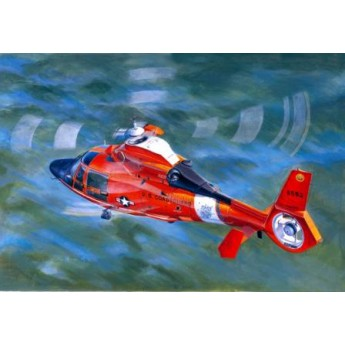 Модель вертолета US Coast Guard HH-65C Dolphin (1:35)