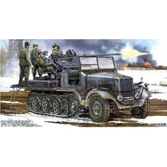 Модель тягача Sd.Kfz.6/2 с Flak 37 (1:35)