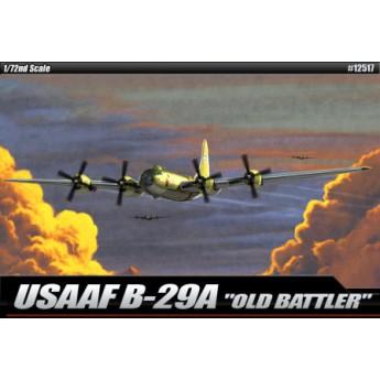 "Academy 12517 Сборная модель самолета USAAF B-29A ""OLD BATTLER"" (1:72)"