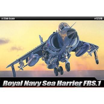 Academy 12518 Сборная модель самолёта FRS. 1 SEA HARRIER (1:72)