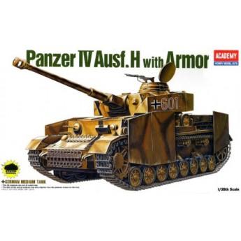 Модель танка GERMAN PANZER IV H W/ARMOR (1:35)