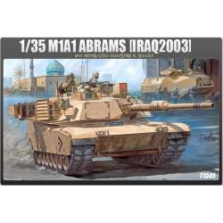 Модель танка M1A1 ABRAMS (1:35)