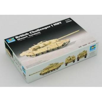 "Trumpeter 07105 Сборная модель танка ""Челленджер"" 1, пустынная версия (1:72)"
