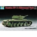 Trumpeter 07230 Сборная модель танка КВ-1 с экранами (1:72)