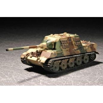 """Модель танка """"Ягдтигр"""" с циммеритом (1:72)"""