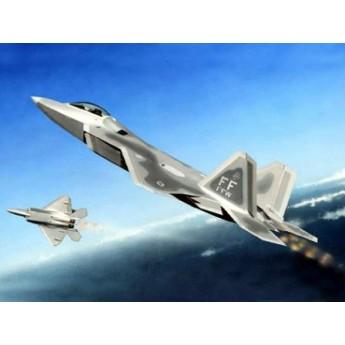 """Модель самолета F-22A """"Раптор"""" (1:144)"""